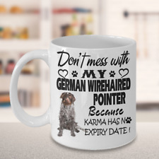 German Wirehaired Pointer,Deutsch Drahthaar,Vorstehhund,Drahthaar,Cup,Coffee Mug