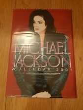 MICHAEL JACKSON * 2001 CALENDAR * 100% UNOFFICIAL NEW & SEALED