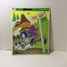 Wacky Races Hanna Barbera Frame Tray Puzzle Vintage 1969