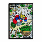 Alec Monopoly Scrooge McDuck HD Canvas Print Home Decor Wall Art Pictures