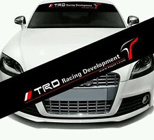 TRD windscreen Logo Sticker Decal for Toyota Camry Reiz RAV4 Corolla Hilux supra