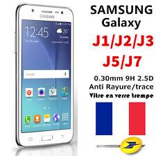 Samsung J1,J2,J3,J5,J7 (2016) Vitre de protection écran protecteur VERRE TREMPE