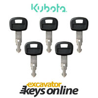 Kubota 459A Excavator Key (Set of 5) Kubota Excavator Kubota Parts