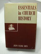 ESSENTIALS IN  LDS CHURCH HISTORY Pres. Joseph Fielding Smith Mormon LDS Vintage