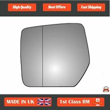 Left Passenger Wide Angle Wing Mirror Glass Jeep Cherokee  2008-2013 434LAS