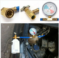 Max 35PSI R134A M14 Measuring Auto Car A/C Refrigerant Refill Pipe Gauge Adapter