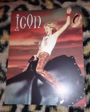"""Madonna """"icon"""" official fan club magazine no 36 From 2001 Very Rare Queen Of Pop"""