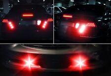 10X 10W 24V 23mm Truck LED Eagle Eye Light Daytime Running DRL Tail Light Red