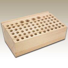 """CraftMaster Wood Tool Rack 4""""x7-7/8"""" Holds 70 LeatherCraft Tools #011-812302"""