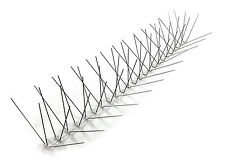 BirdBusters Stainless Steel Bird Spikes 10'- bird control X-wide ledges Spikes