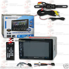 "Soundstream Vr-65B 6.2"" Lcd Dvd Cd Bluetooth Stereo Free Licenseplate Camera"