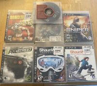 Lot Of 7 Playstation 3 Games Shaun White Sniper Mx Vs Atv Need For Speed