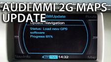 Audi 2018 neuf Dernière Mise à jour cartographique MMI 2 G Haut Europe Sat Nav DVD A4/A5/A6/A8/Q7