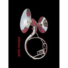 """SOUSAPHONE DOUBLE BEL SOUND (22"""" +16"""" BELL)IN CHROME SILVER +FREE CASE & MOUTHPC"""
