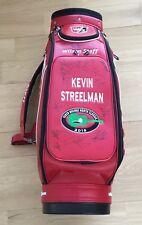 KEVIN STREELMAN WILSON Pro Tour Staff Golf Bag Signed AUTOGRAPHED (26) PGA RARE