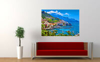 "AMALFI ITALY NEW GIANT LARGE ART PRINT POSTER PICTURE WALL 33.1""x23.4"""