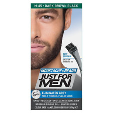Just for Men Beard Colour Dark Brown FREE SHIPPING