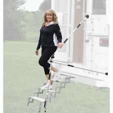 Torklift A7621 GlowGuide Handrail for Campers and Rvs w/GlowStep Scissor Steps