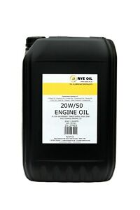 20w/50 Classic 20w50 Vintage Engine Oil 25 Litre 25L API SF/CD, MIL 2104B