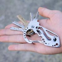 Multifunktions·Schlüsselanhänger Schraubendreher Karabiner Quickdraw Werkzeug#