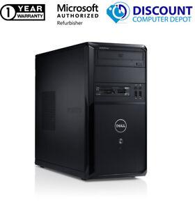 Low Price Dell Desktop Computer Core 2 Duo 4GB 500GB HD Windows 10 PC WIFI DVD