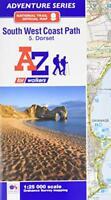 SW Coast Path Dorset Adventure Atlas by Geographers' A-Z Map Co Ltd | Paperback