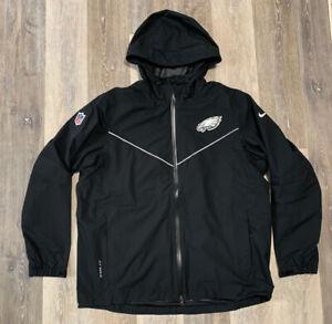 Men's Nike NFL Philadelphia Eagles On-Field Storm Fit Coaches Jacket Black XL