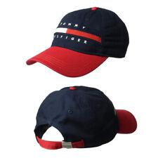 Tommy Hilfiger Hat Baseball Cap Logo Unisex Mens Womens Adjustable One Size New#