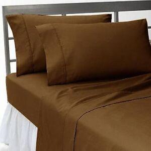 1000 TC New Egyptian Cotton Bedding Items Sheet Set/Duvet/Fitted California King