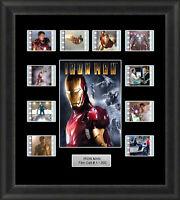 Iron Man Framed 35mm Film Cell Memorabilia Filmcells Movie Cell Presentation