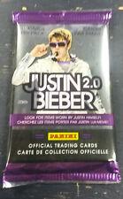 2011 Panini Justin Bieber 2.0 Trading Card Packs