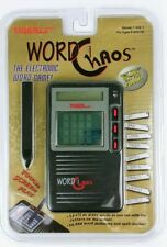 Tiger Electronics WORD CHAOS Handheld Electronic Game 1997 - New in Package