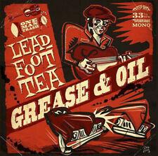 LEADFOOT TEA GREASE & OIL TRASH WAX RECORDS VINYLE NEUF NEW VINYL LP