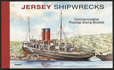 JERSEY 2011 SHIPWRECKS PRESTIGE BOOKLET SB70  #M028