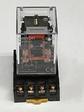 Relay OMRON MK2P-I MK2P 12V 12VDC 8 Pin 10A 250VAC with Socket PF083A 1pc