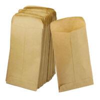100 pcs Kraft Paper Heart Flower Plastic Cellophane Cookies Candy Gift Bags