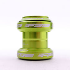 "FSA ORBIT MX Threadless Mtb Road Headset 1-1/8"" Green W/o top cap"