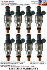 Upgrade Genuine Bosch Set Of 8 Fuel Injectors For 1988 1991 Ford F 250 75l V8