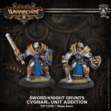 Cygnar Sword Knights (2 Minis) Warmachine Privateer Press PIP 31030