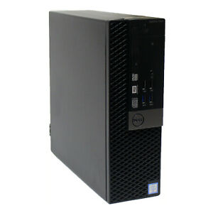 Dell Optiplex 7040 SFF Desktop PC i7-6700 16GB RAM 256GB SSD HDMI Windows10 WiFi