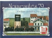 CATALOGUE DEPLIANT JOUEF - 1979 - NOUVEAUTES