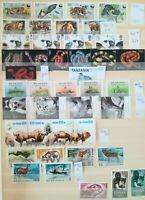 Wildtiere kleine Zusammenstellung verschiedener Länder ** Mi€:~100