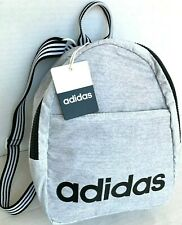 ADIDAS Core Mini Backpack Bag WHITE JERSEY/Black/$30/NWT