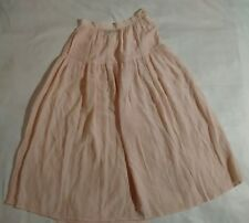 Silk skirt pink i.b. diffusion zipper button  **(two very small stains)**