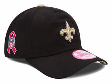 New Orleans Saints Women's New Era 9FORTY NFL Breast Cancer Awareness Hat Cap