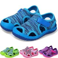 New Summer Child Kids Baby Girls Boys Beach Non-slip Sneakers Sandals Shoes AU