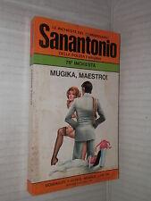 MUGIKA MAESTRO Le inchieste del commissario Sanantonio 76 Mondadori 1976 giallo