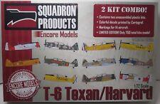 New ListingEncore Models 72105 T-6 Texan/Harvard 2 Kit Combo 1/72 Scale Aircraft Kit - New