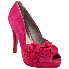 POETIC LICENCE HOLIDAY DELIGHT RASPBERRY PINK SHOES 9 PLATFORM HIGH HEELS FLOWER
