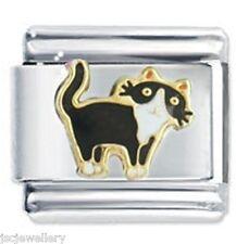 CURIOUS CAT - Daisy Charm Italian Charms Fits Classic Size Bracelet dog cat